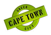 GREEN CITY CAPE TOWN — Stock Photo