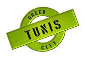 Yeşil şehir Tunus — Stok fotoğraf