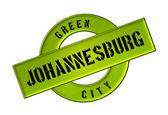 緑の都市ヨハネスブルク — ストック写真