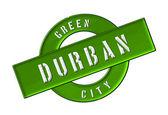 Zielone miasta durban — Zdjęcie stockowe
