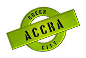 GREEN CITY ACCRA — Stock Photo