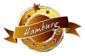 Royal Grunge - HAMBURG — Stock Photo