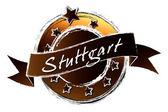 Royal Grunge - STUTTGART — Stock Photo