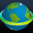 Stock Photo: Planet Earth - ONLINE
