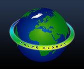 惑星の地球 - グローバル — ストック写真