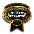 Stock Photo: MEDAL - LIFETIME GUARANTEE