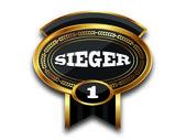 Medal - sieger — Zdjęcie stockowe