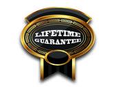 MEDAL - LIFETIME GUARANTEE — Stock Photo
