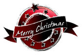 Royal Grunge - Merry Christmas — Stock Photo