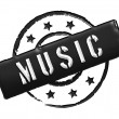 Stamp - MUSIC — Stock Photo