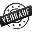 Stamp - VERKAUF — Stock Photo