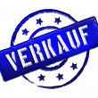 Stamp - VERKAUF — Stock Photo #11915885