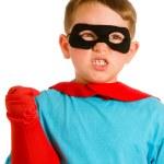 Child pretending to be a superhero — Stock Photo #10794689