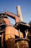 Fábrica metalúrgica — Foto de Stock