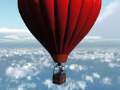The red balloon — Stock Photo
