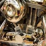 Motorcycle engine — Stock Photo #11345719
