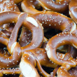 The salted pretzels — Stock Photo