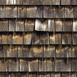 Cedar shingles — Stock Photo
