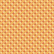 Vector sunny orange seamless pattern background or texture — Stock vektor
