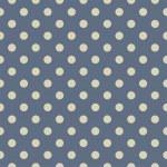 vektor seamless mönster med beige prickar på sailor navy blå bakgrund — Stockvektor