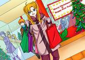 Saludos de temporadas de compras — Foto de Stock