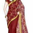 India Traditional Costume — Stock Photo