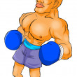A Boxer — Stock Photo