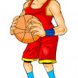 Basketball Player — Foto de stock #11885382