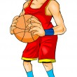 Basketball Player — Stock Photo #11885382