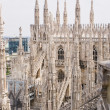 Spires of Cathedral of Milan — Stock Photo #10793152