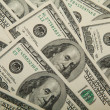 Stock Photo: Dollars background