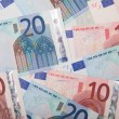 Euro money background — Stock Photo #11261921