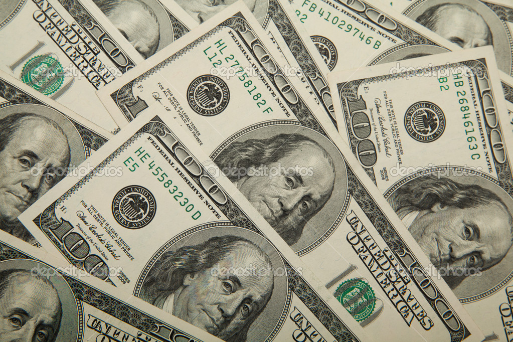 Dollars background — Stock Photo #11261797
