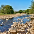 Stock Photo: River Swale, Yorkshire, England