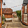 Stock Photo: Quaint village of Hamble-le-Rice