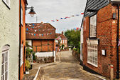 Quaint village of Hamble-le-Rice — Stock Photo