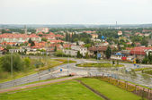 City roundabout — Stock Photo
