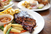 BBQ ribs — Stock Photo
