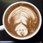 Coffee on wood background — Stock Photo #12148823