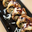 Tempura Maki Sushi with cheese — Stock Photo