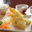 Stock Photo: TempurFried shrimp Japanese style