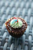 Chocolate cupcake — Stockfoto