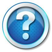 Help web icon — Stock Photo
