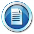 Document icon - Stock Photo