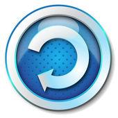 """Symbol """"aktualisieren — Stockfoto"""