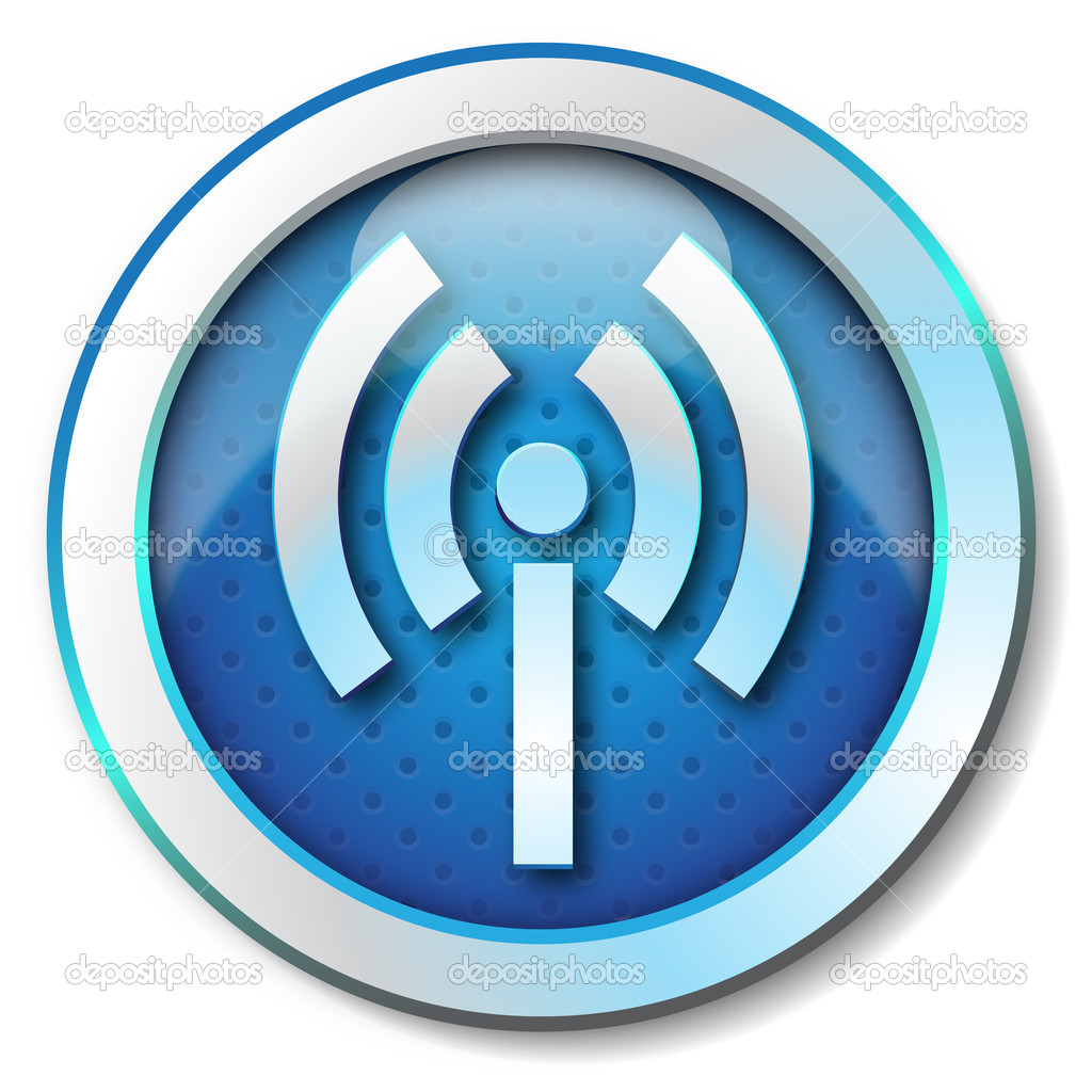Wireless WLAN icon — Stock Photo #10810026