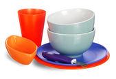 彩色的厨具 — 图库照片