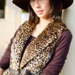 Pretty womin hat — Stock Photo #11406037