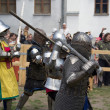 Knight battle — Stock Photo