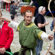 Medieval archer — Stock Photo